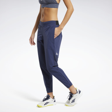 Women Training Blue United By Fitness Woven Pants