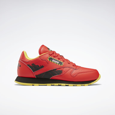 Classics Red Jurassic Park Classic Leather Shoes