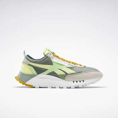 Classics Green Classic Leather Legacy Shoes