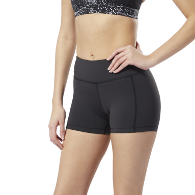 """Booty Shorts Lux 3"""" Negro Mujer Fitness & Training"""