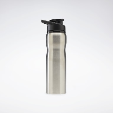 Cycling Silver Training Supply Metal Water Bottle 800 mL