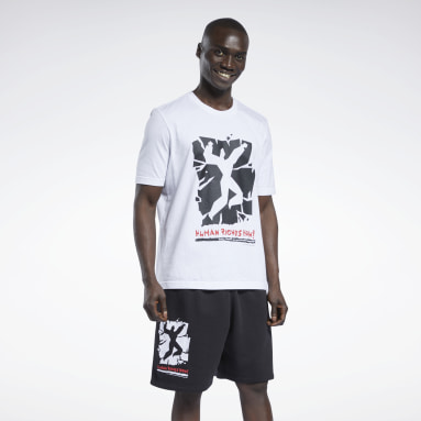 Classics White Human Rights Now! T-Shirt