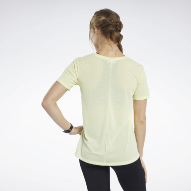 T-shirt Workout Ready Supremium Giallo Donna Fitness & Training