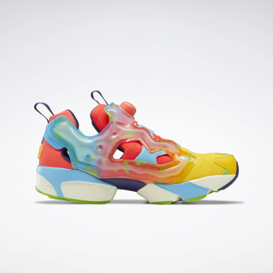 Classics Yellow Jelly Belly Instapump Fury Shoes