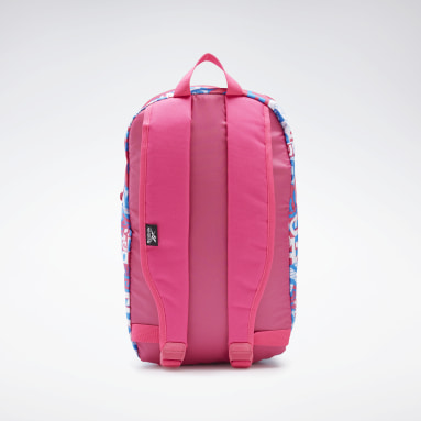 Girls Fitness & Training Pink Graphic Backpack