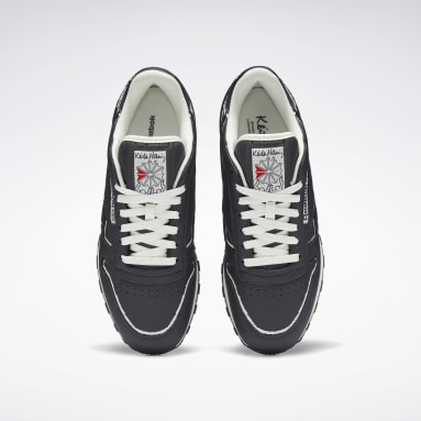 CLASSIC LEATHER KEITH HARING Gris Hombre Classics