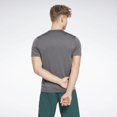 T-shirt Workout Ready Mélange Gris Hommes Fitness & Training