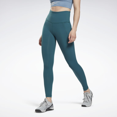 Mallas Lux High-Rise Verde Mujer Deporte