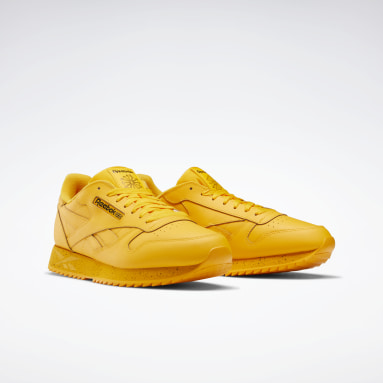 Classics Gold Classic Leather Ripple Shoes