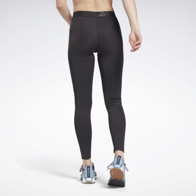 Women Fitness & Training Black Workout Ready Commercial Tights