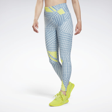 SH Lux HR- Shattered Grid Blu Donna Fitness & Training