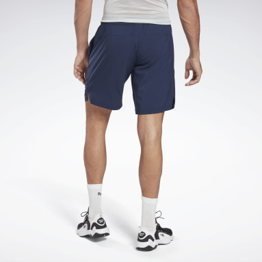 Shorts Workout Ready Graphic Azul Hombre Fitness & Training