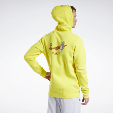 Classics Yellow Tom and Jerry Hoodie
