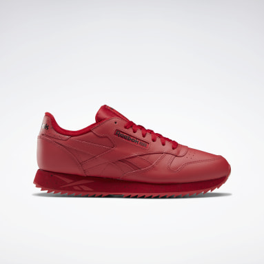 Classics Red Classic Leather Ripple Shoes