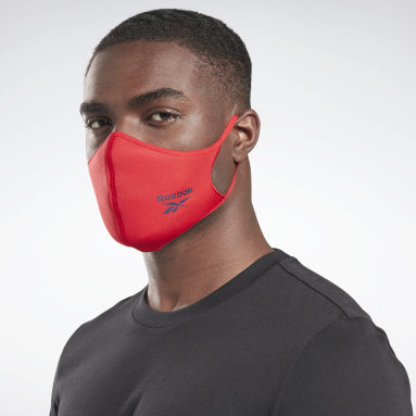 Fitness & Training Grey Face Cover 3-Pack M/L - Not For Medical Use