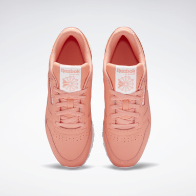 Women Classics Red Classic Leather Shoes