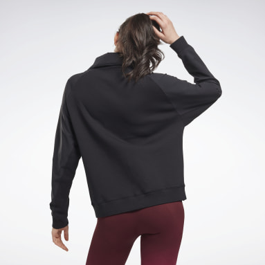 Chaqueta United by Fitness Negro Mujer Deporte