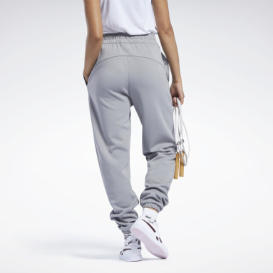 Jogging taille haute Workout Ready Gris Femmes Fitness & Training