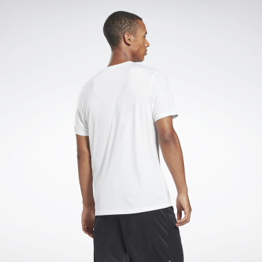 Men Fitness & Training White Workout Ready Graphic T-Shirt