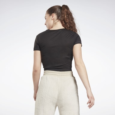 Top MYT Cinched Negro Mujer Deporte