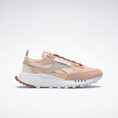 Women Classics Pink Classic Leather Legacy Shoes