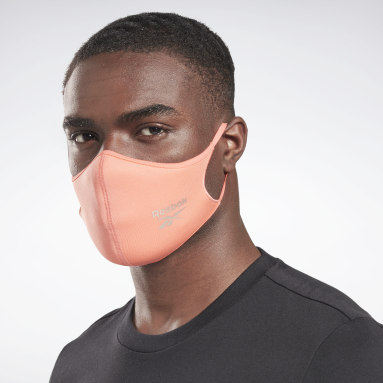Fitness & Training Black Face Cover 3-Pack M/L - Not For Medical Use