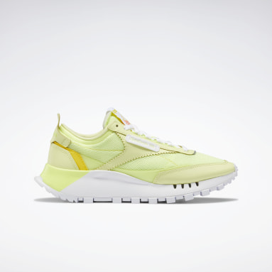 Women Classics Yellow Classic Leather Legacy Shoes