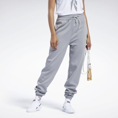 Women Fitness & Training Grey Workout Ready High-Rise Joggers