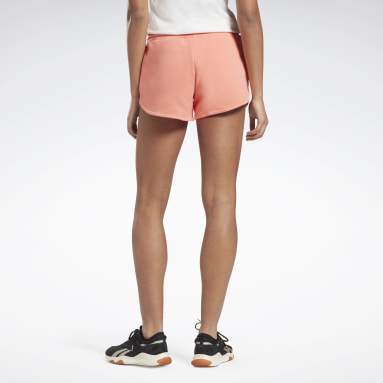 Short Reebok Identity French Terry Rosso Donna Fitness & Training
