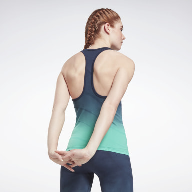 Canotta United by Fitness Seamless Blu Donna Fitness & Training