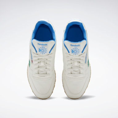 Classics White Classic Leather Grow Shoes