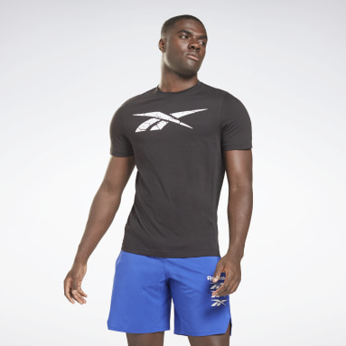 T-shirt Elevated Graphic Noir Hommes Fitness & Training