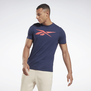 T-shirt Elevated Graphic Bleu Hommes Fitness & Training