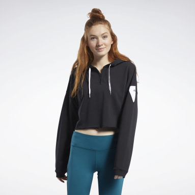 Sudadera Meet You There Negro Mujer Deporte