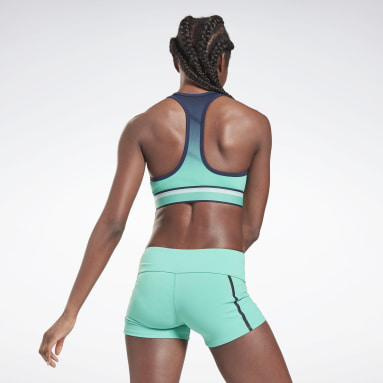 Top corto United By Fitness Seamless Blu Donna Fitness & Training