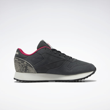 Tenis Classic Leather Ripple Gris Mujer Classics