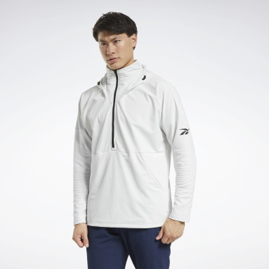 Men Training Grey United By Fitness Control Hoodie