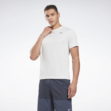 Men Training Grey United By Fitness Perforated Tee