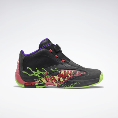 Men Classics Grey Ghostbusters Answer IV Men's Basketball Shoes
