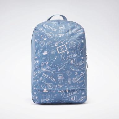 Kids Fitness & Training Blue Essentials Graphic Backpack