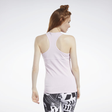 Musculosa Meet You There Rosa Mujer Running