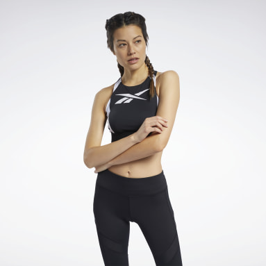 Bralette Workout Ready Low-Impact Nero Donna Ciclismo