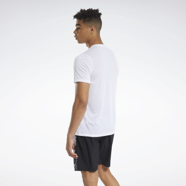 Men Fitness & Training White Actron Tee