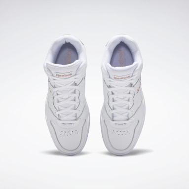 Women Classics White Reebok Royal BB4500 Hi 2 Shoes