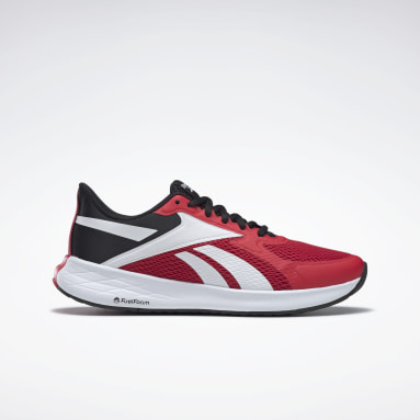 Men Running Red Energen Run Men's Running Shoes