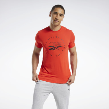 T-shirt imprimé Series Speedwick Rouge Hommes Yoga
