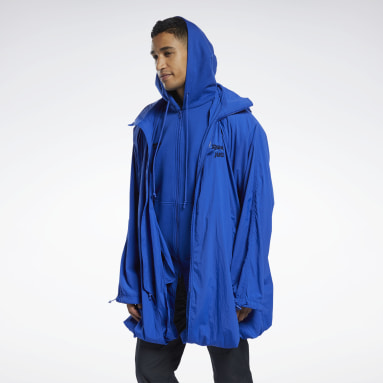 Outdoor Blue Juun.J Windbreaker