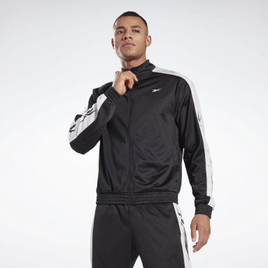 Herr Fitness & Träning Svart Training Essentials Vector Track Jacket