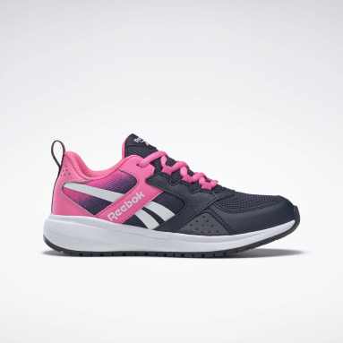 Girls Running Blue Reebok Road Supreme 2 Shoes