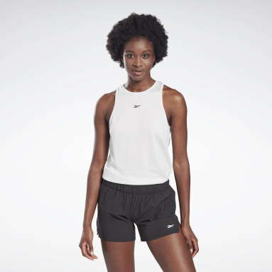 Women Studio Grey LES MILLS® SmartVent Sleeveless Tee